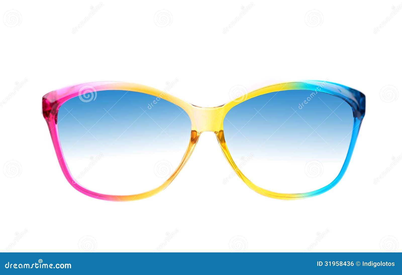 Color Sunglasses Stock Photo Image Of Shape Optical
