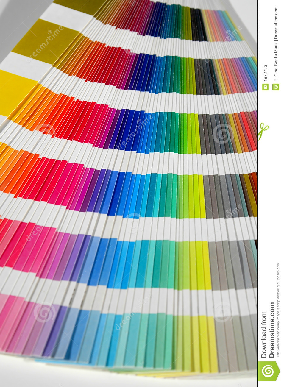 Color Swatch Book stock image. Image of designer, office - 1872793