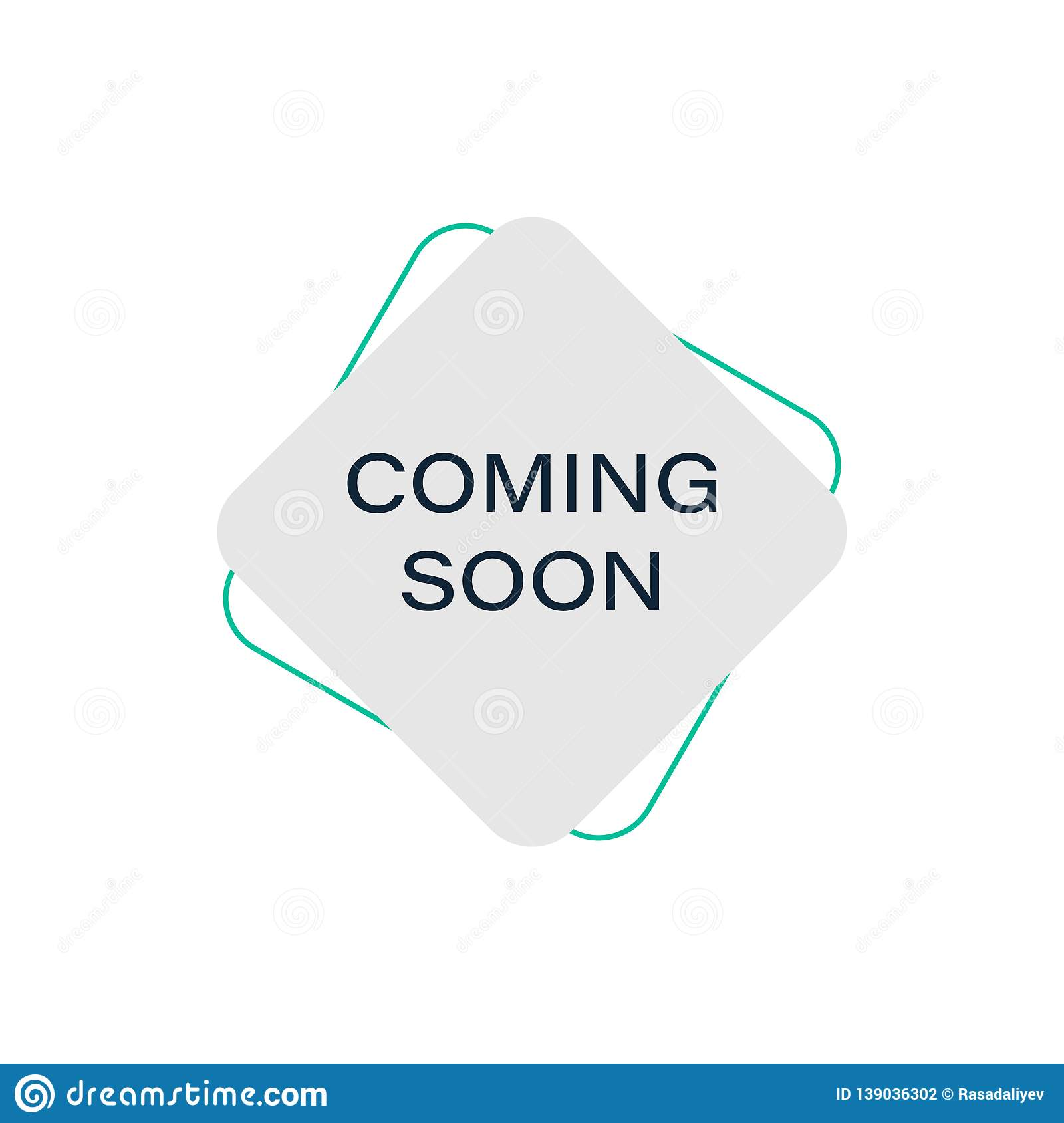 Color Tag Coming Soon Icon Element Of Discount Tag Premium Quality Graphic Design Icon Signs And Symbols Collection Icon For Stock Illustration Illustration Of Button Advertising 139036302
