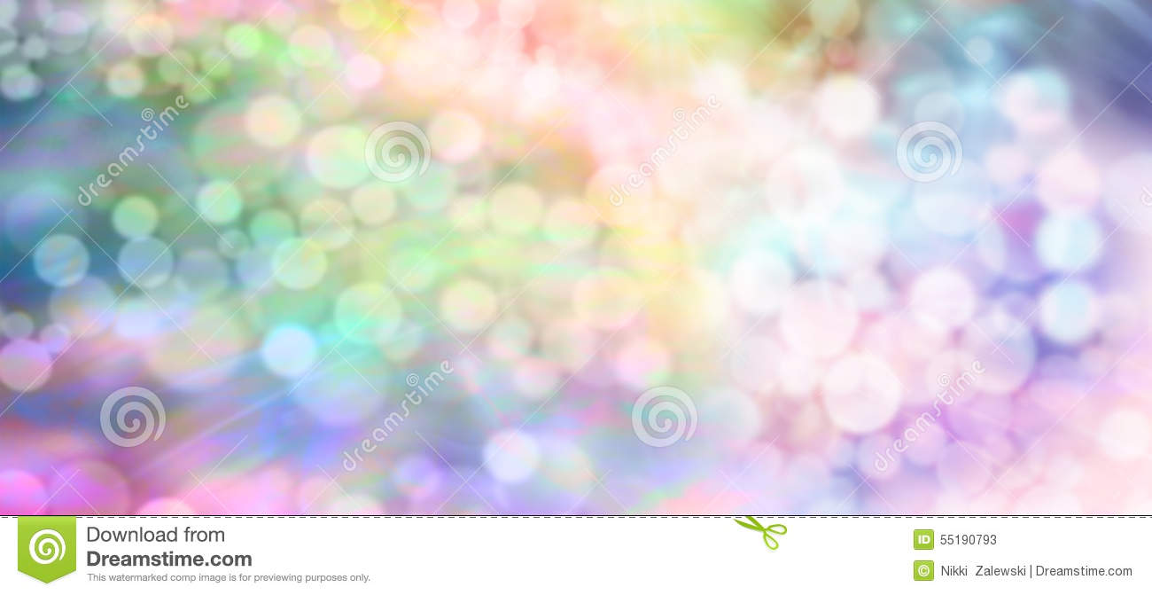 Website soft colors - Color Therapy Soft Lights Bokeh Background Banner