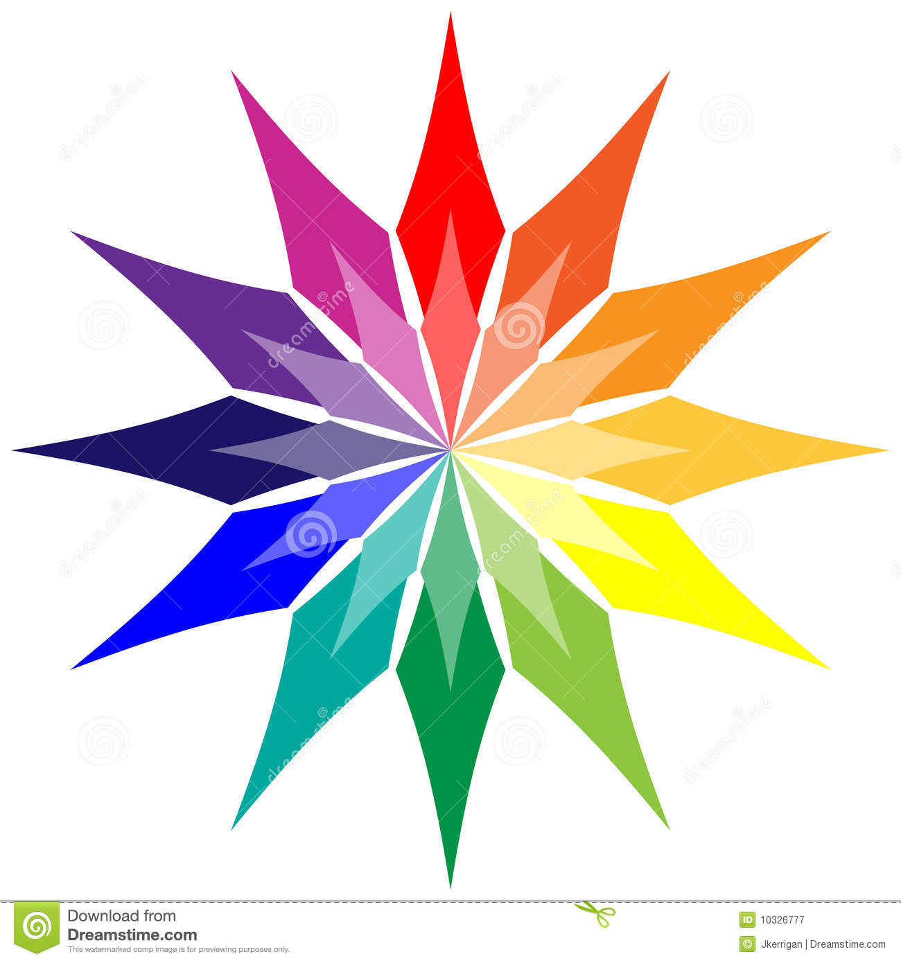 Color Wheel Royalty Free Stock Photography Image 10326777