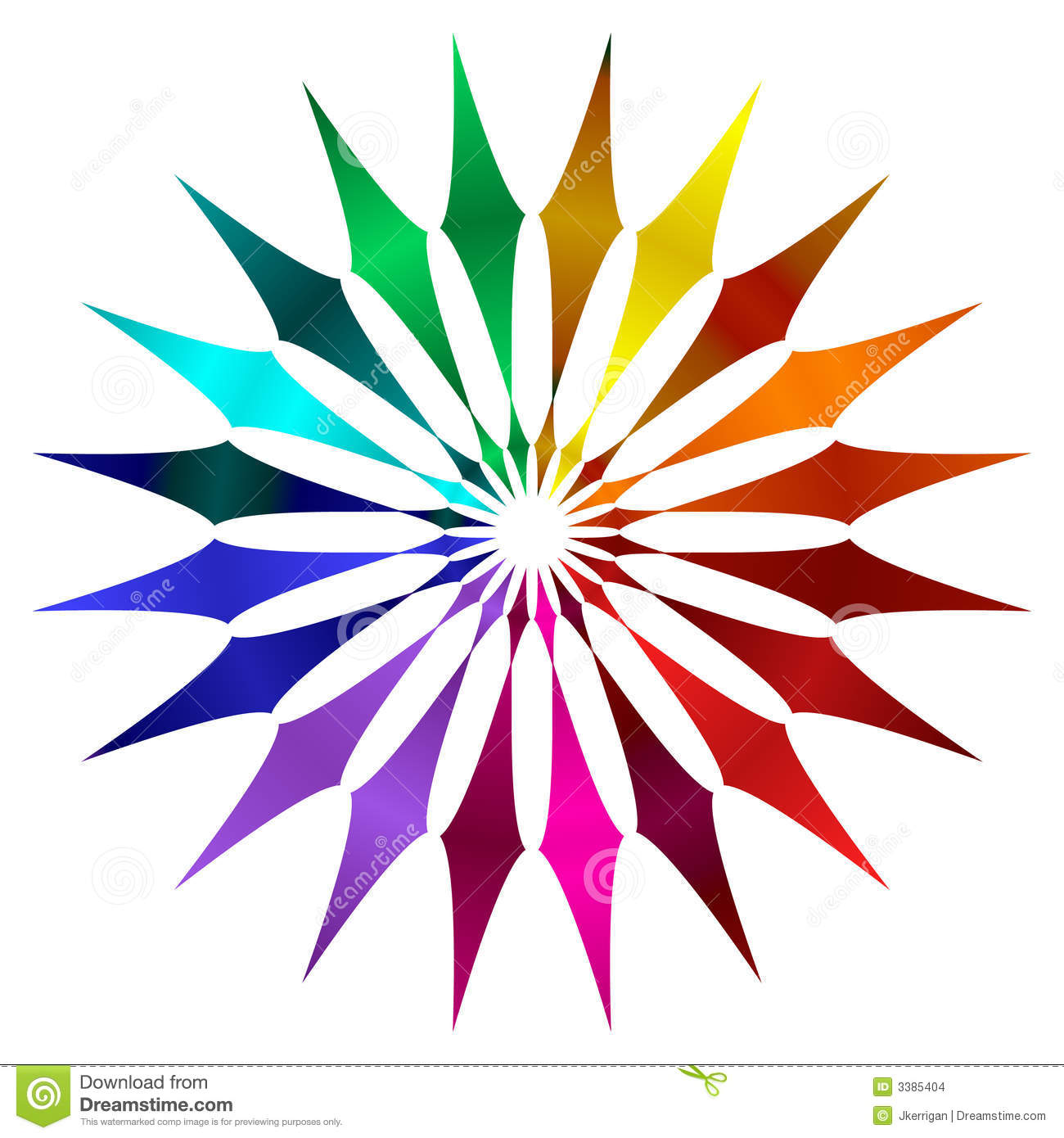 Color Wheel Stock Images Image 3385404