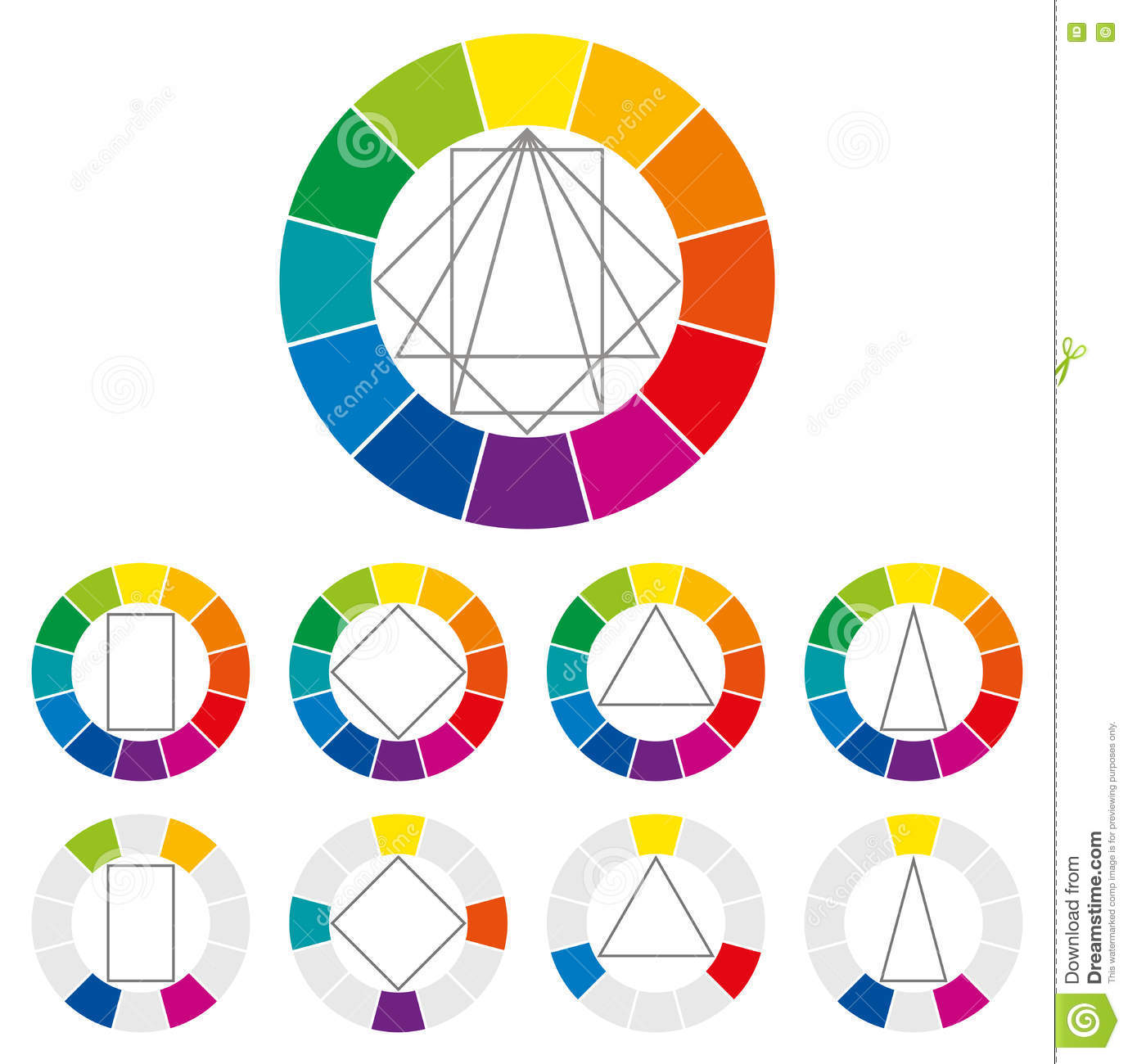Color wheel color combinations pictures to pin on - Show color wheel ...