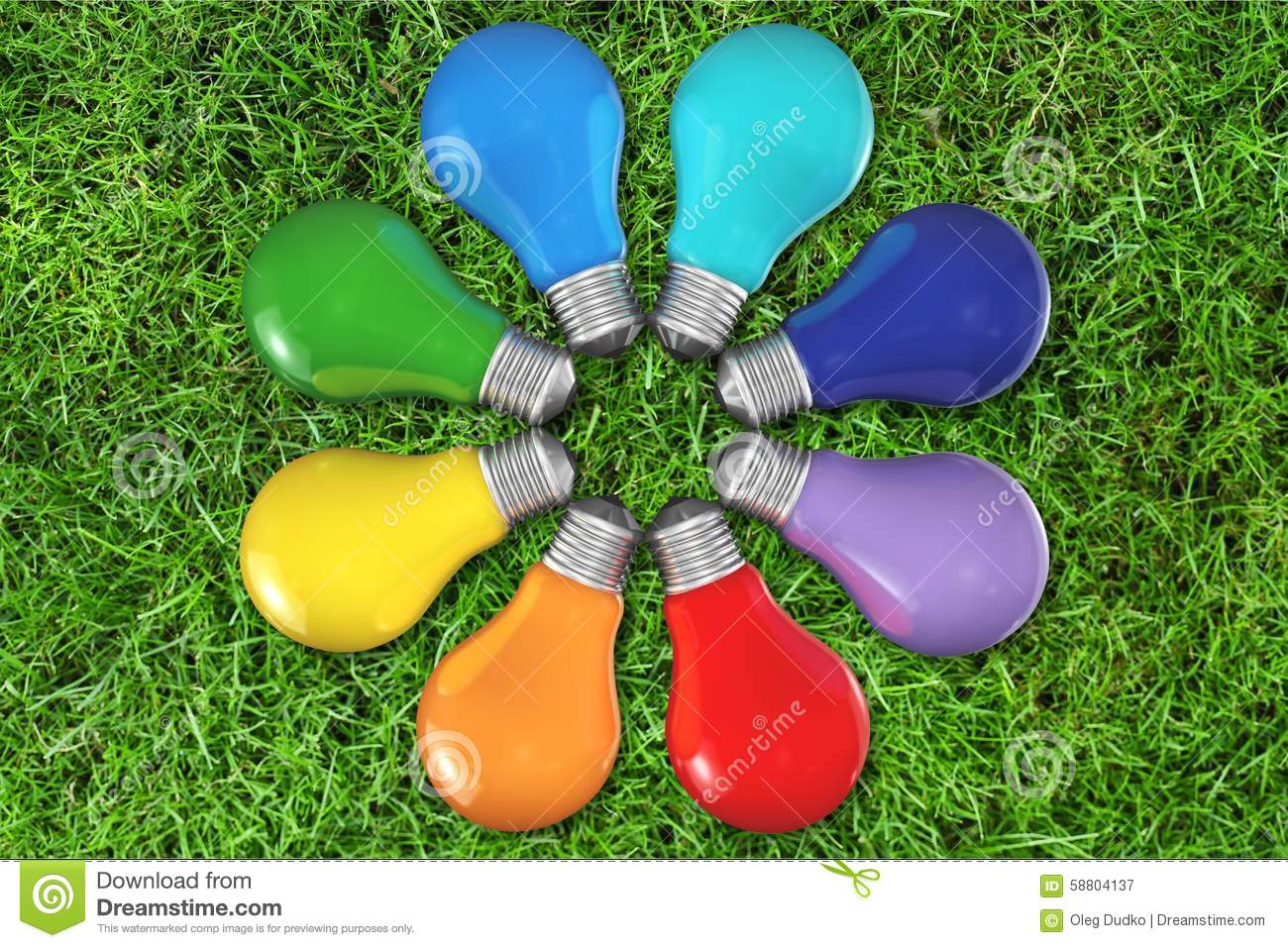 Color Wheel Stock Image Of Concepts Expressing
