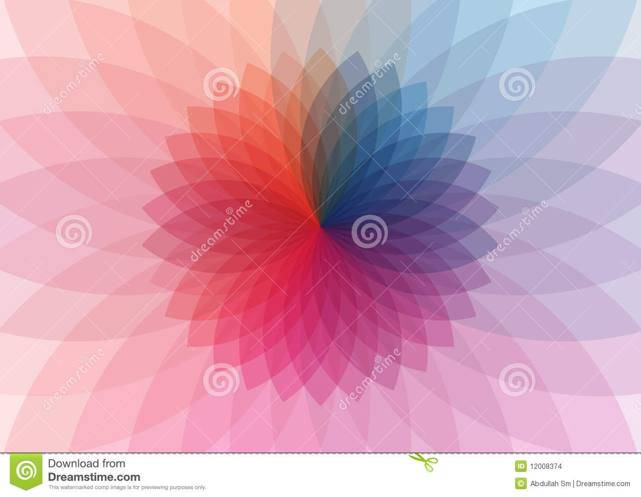 Color Wheel Pattern Design