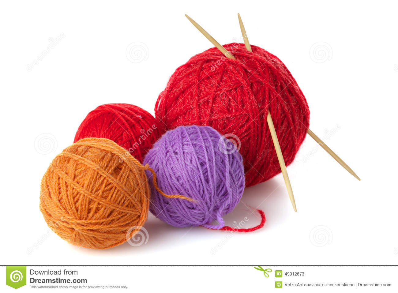 Color Yarn Stock Photos - Royalty Free Stock Images