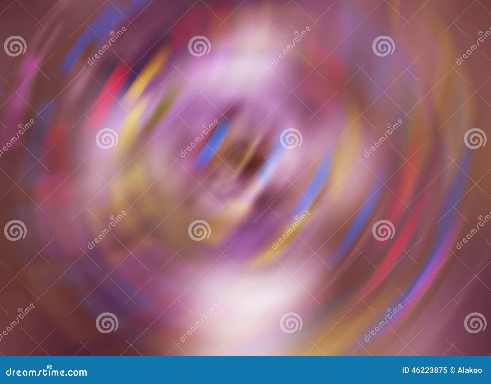 Colora o fundo abstrato de giro do borrão de movimento da velocidade, gire o teste padrão borrado rotação