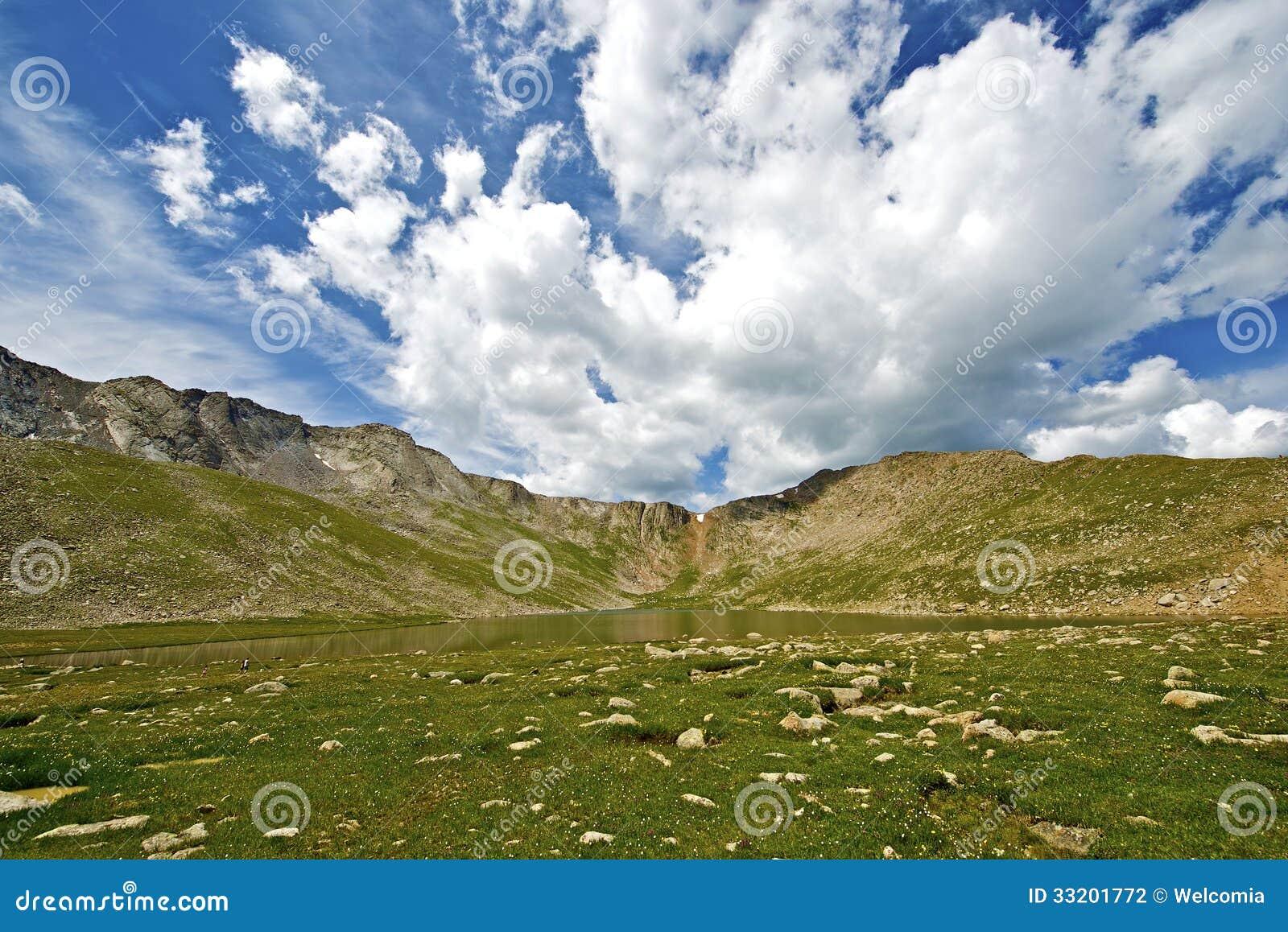 Colorado Alpine Lake Stock Photography - Image: 33201772