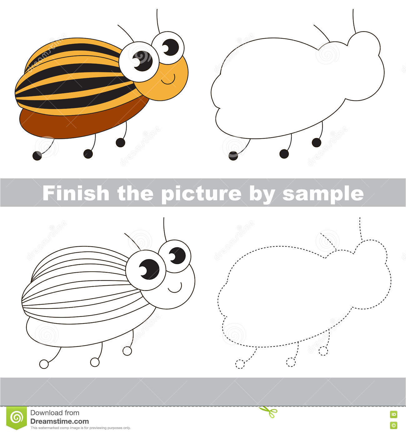 worksheet Child Support Worksheet Colorado colorado beetle drawing worksheet stock vector image 75234118 worksheet
