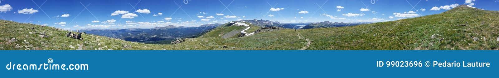 Colorado-Berglandschaft