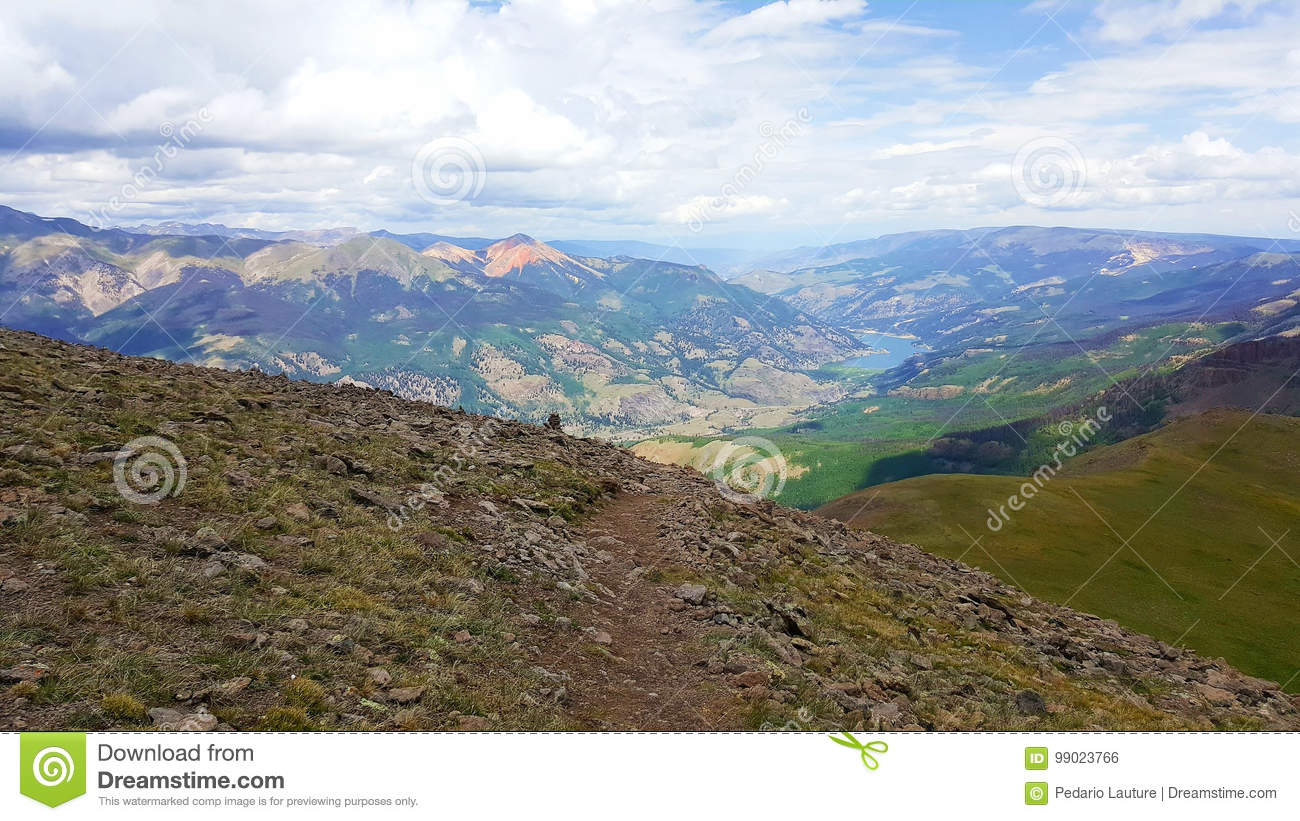 Colorado-Berglandschaft