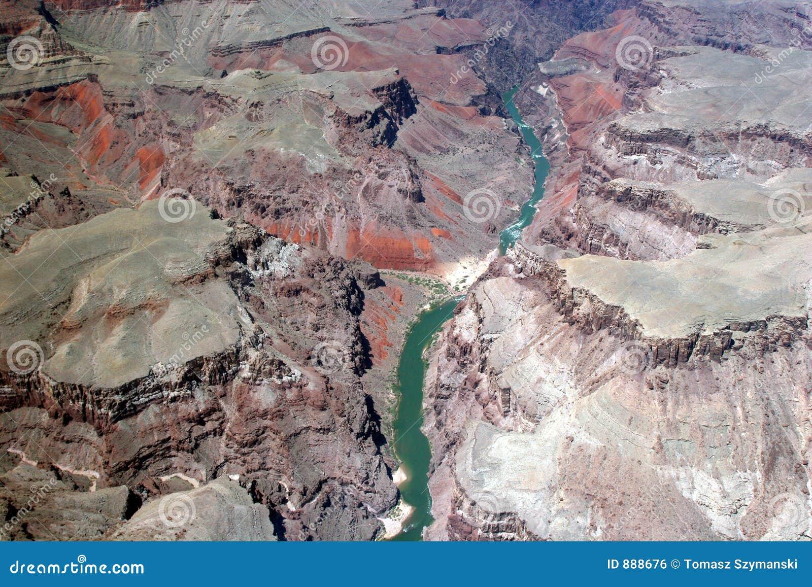 Colorado grand canyon rzeki