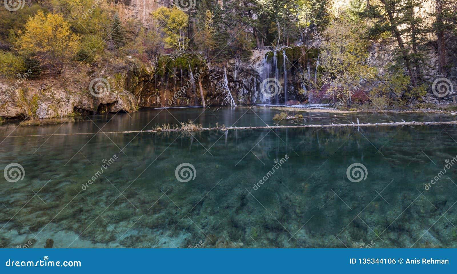 Colorado heeft verbazende mooie landschap, watervallen en aard, de V.S., Reis