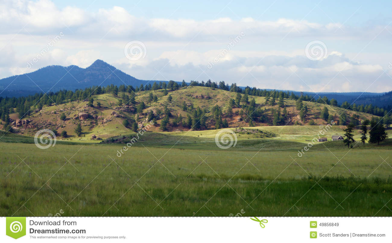 Colorado Landscape Stock Photo - Image: 49856849