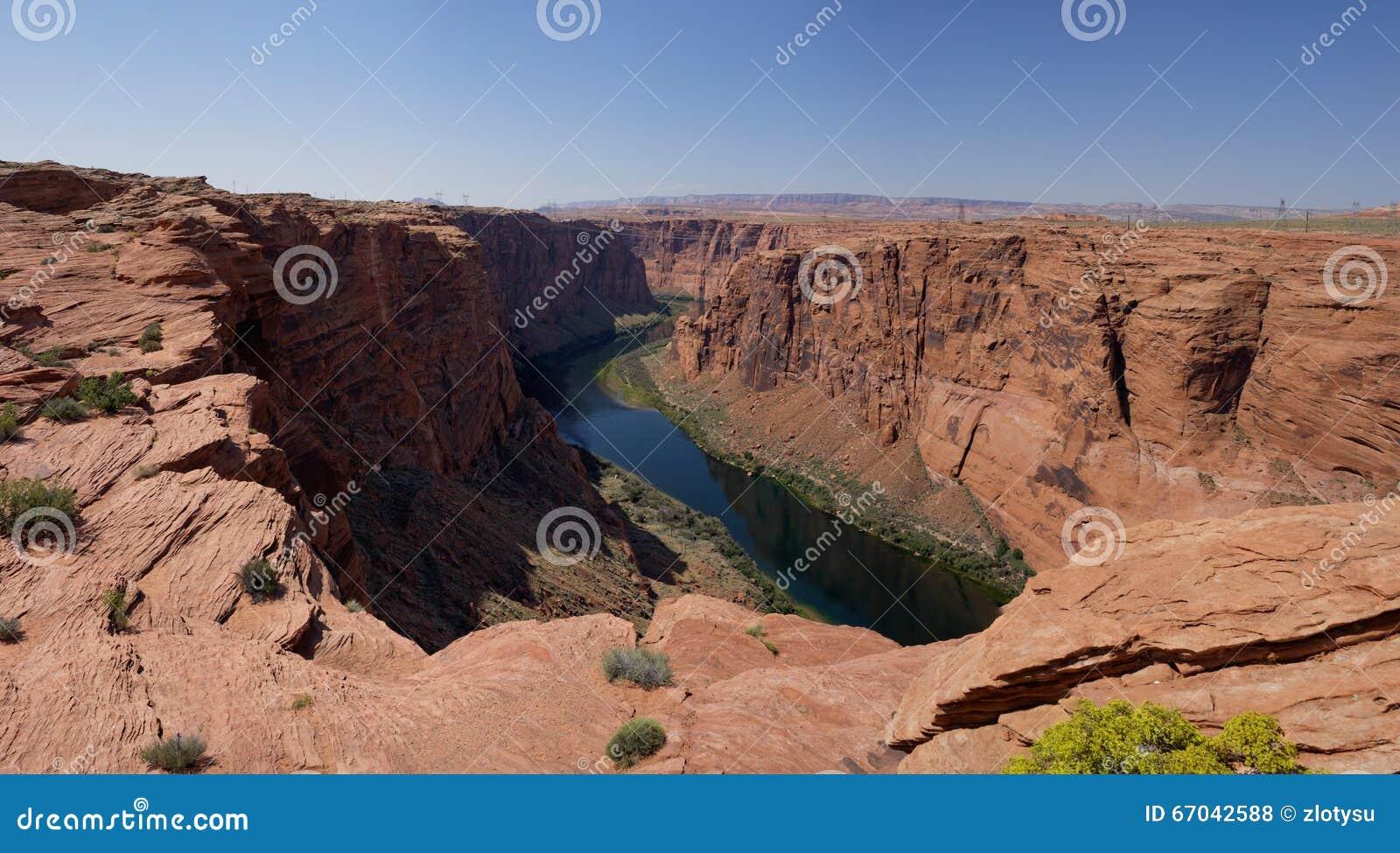Colorado River in Glen Canyon (Arizona, USA)