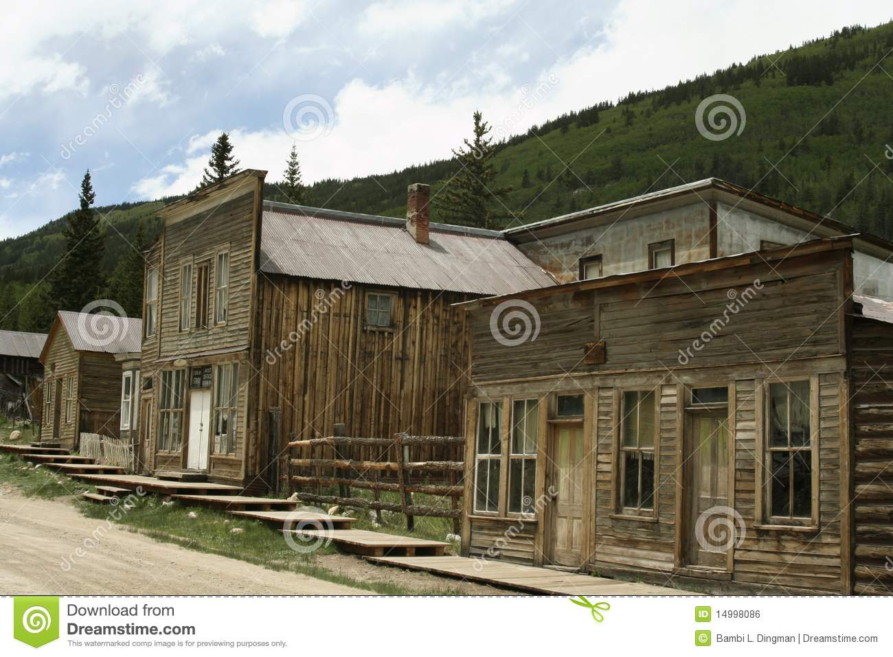 in Saint Elmo Ghost town. St. Elmo is Colorado's best-preserved ghost ...