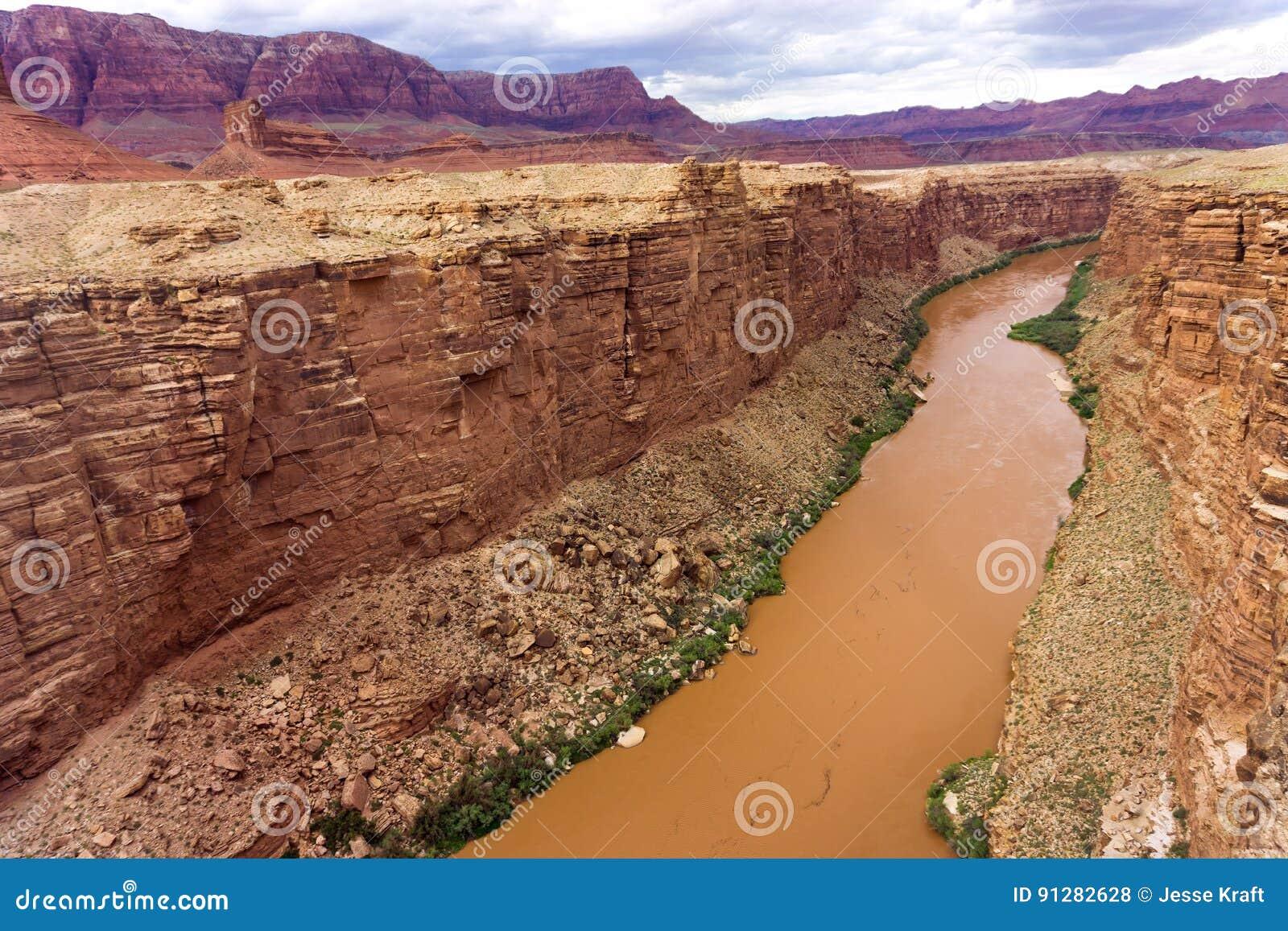 Coloradofloden- och marmorkanjon