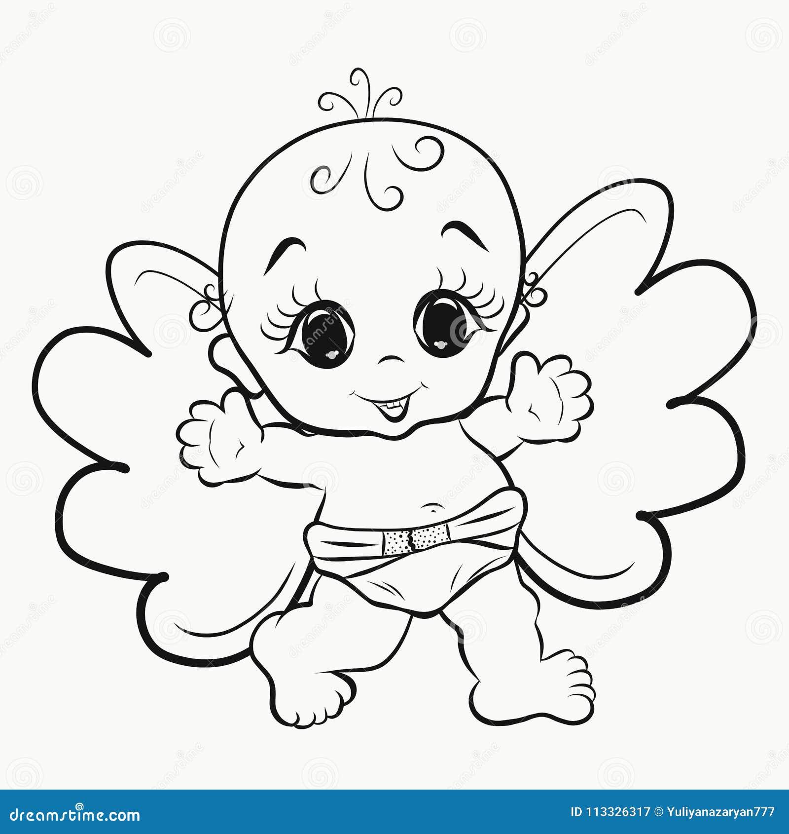 Colorant, un petit ange gai