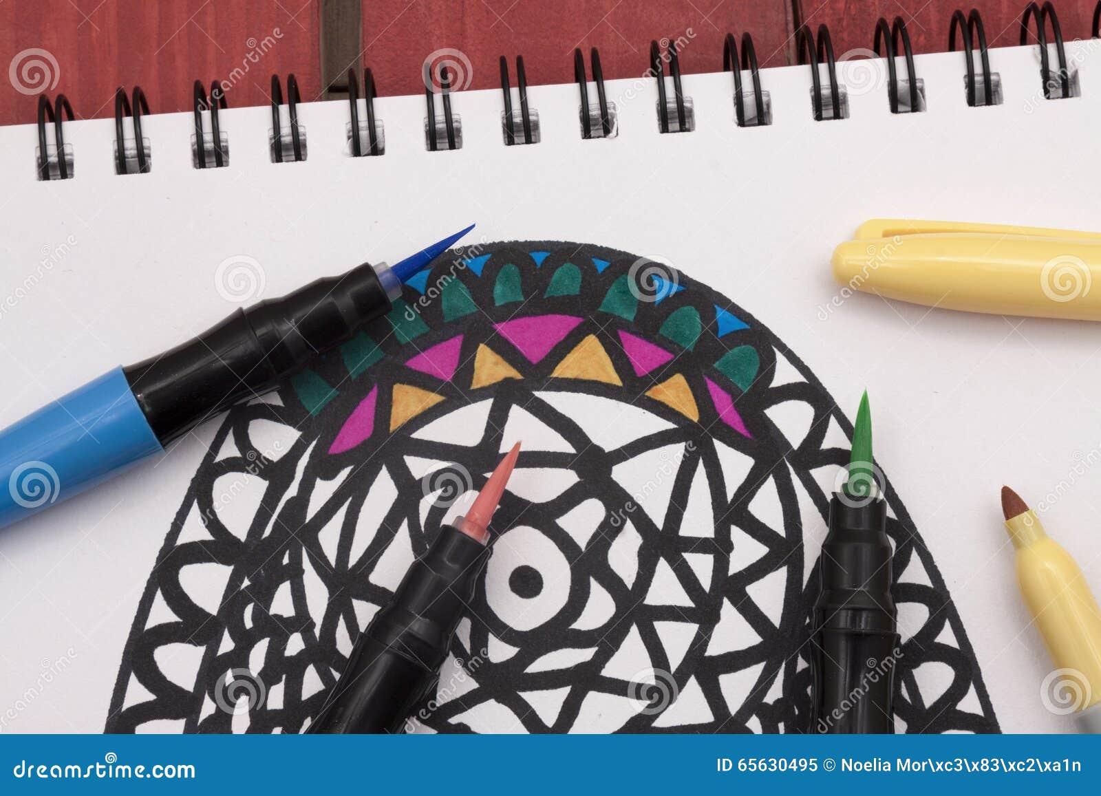 Coloration d un mandala