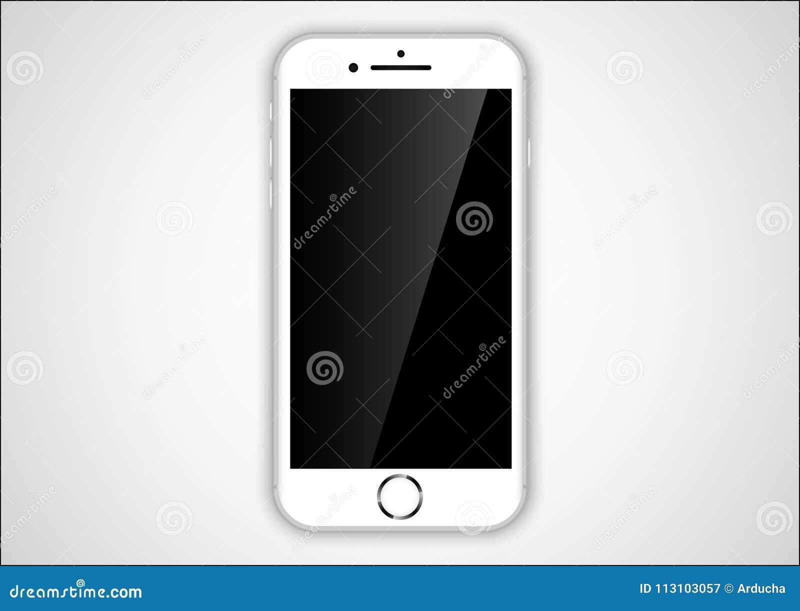 Colore di bianco di iphone