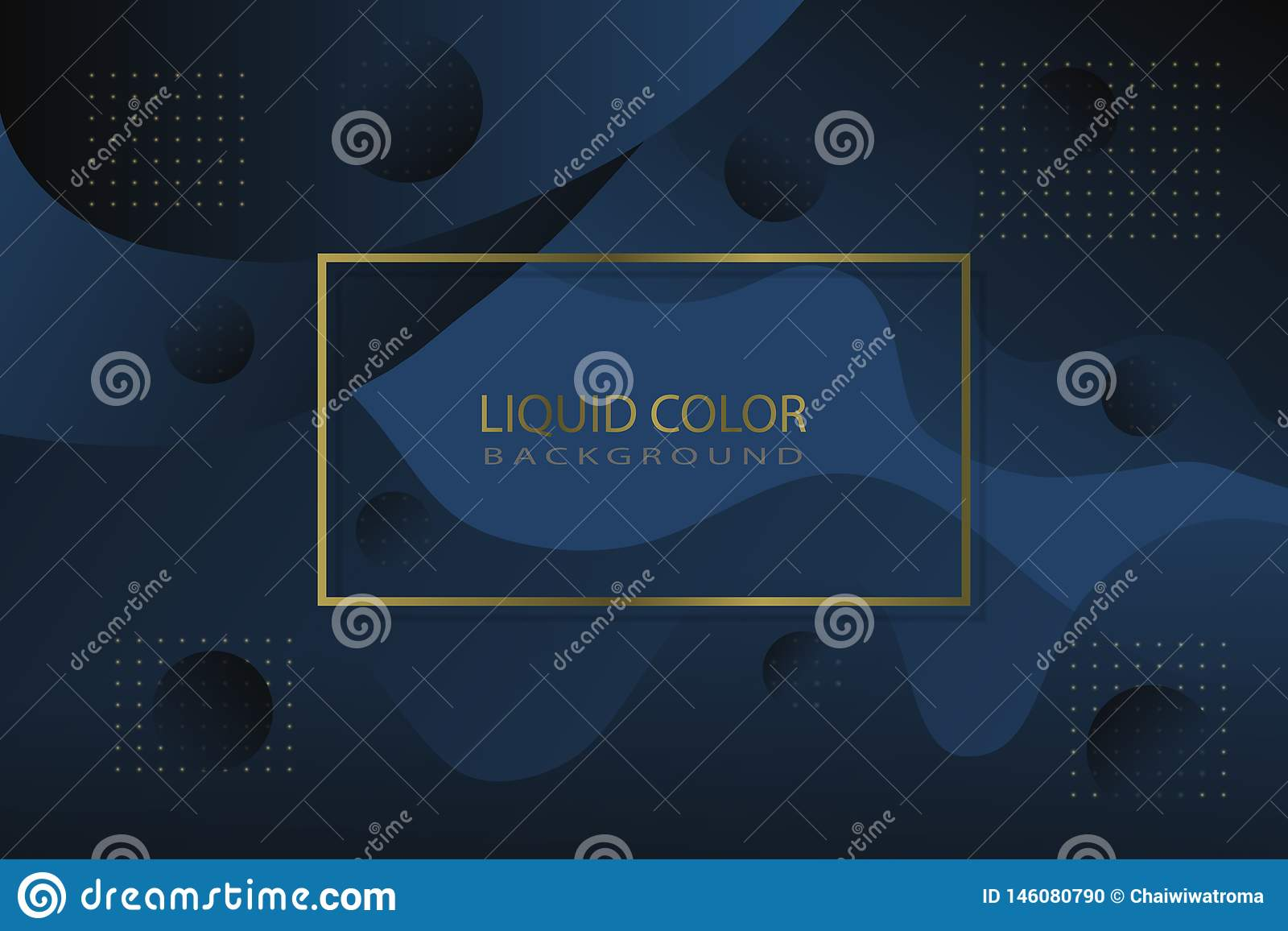 Colore liquido di lusso come fondo