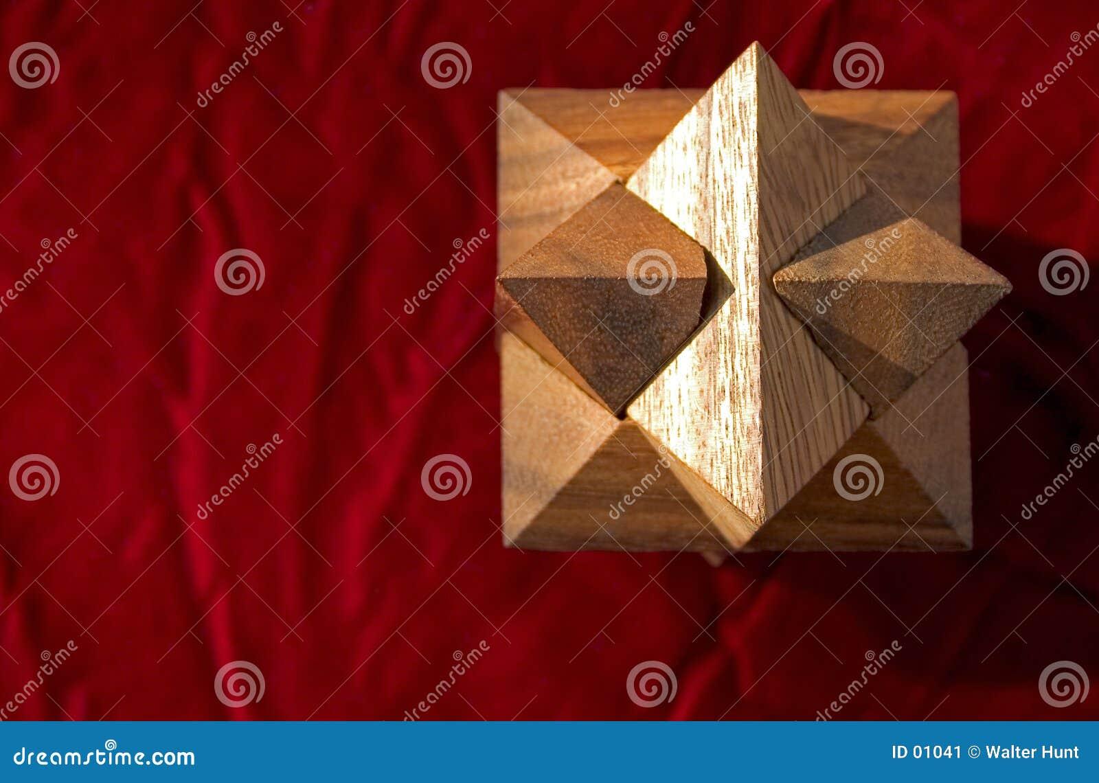 Colore rosso 2 di puzzle