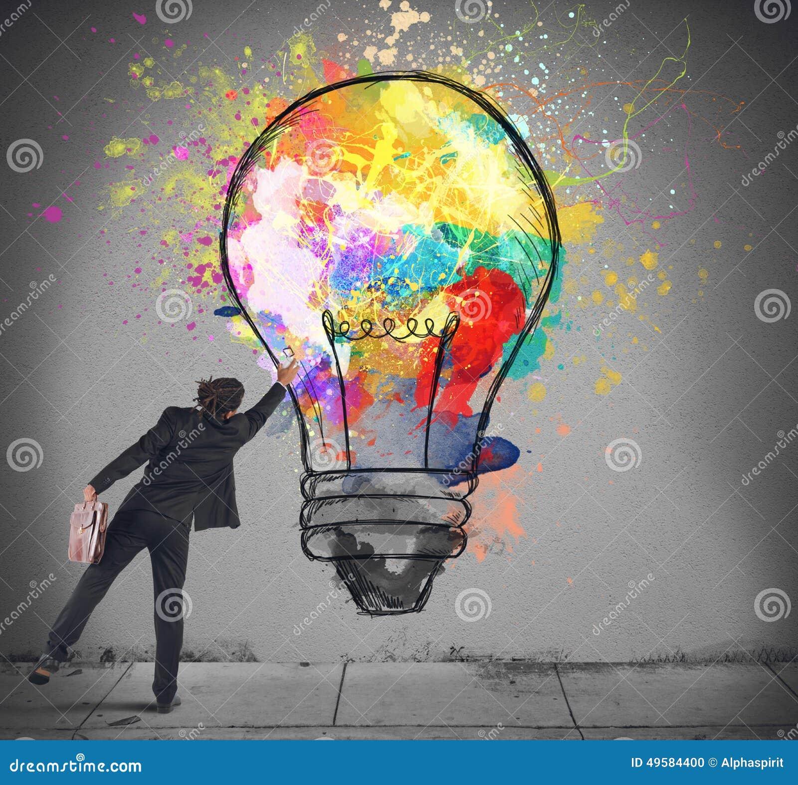 colore une ampoule - Ampoule Colore