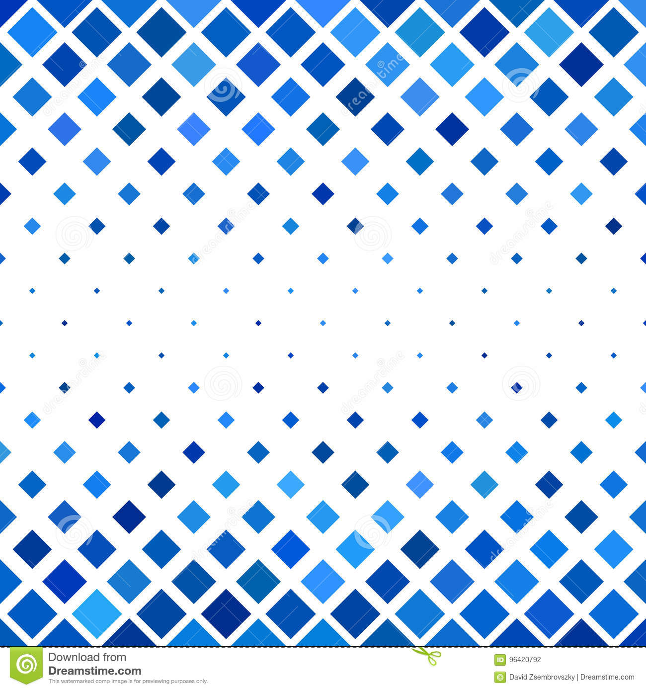 Colored Abstract Square Pattern Background - Vector