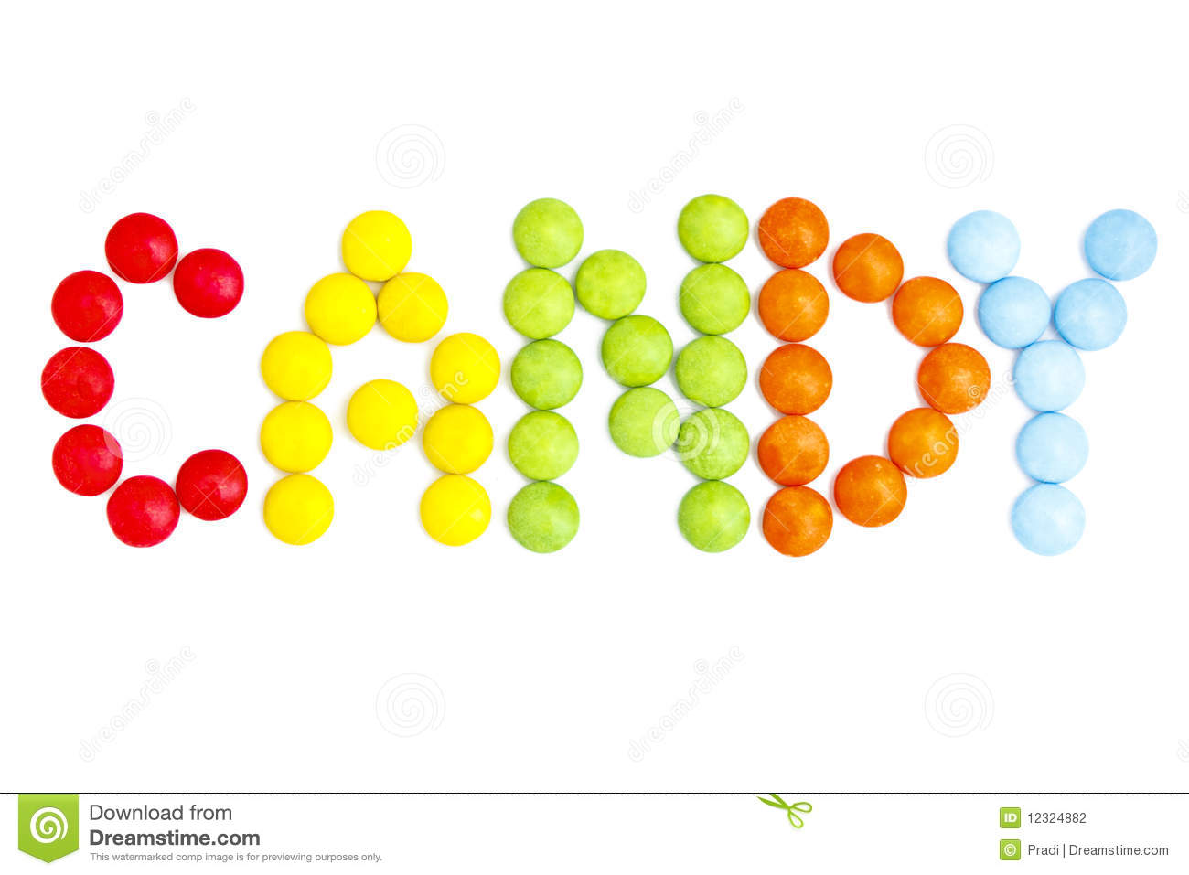 Colored Candy stock photo. Image of spotted, colours ... Smarties Candy