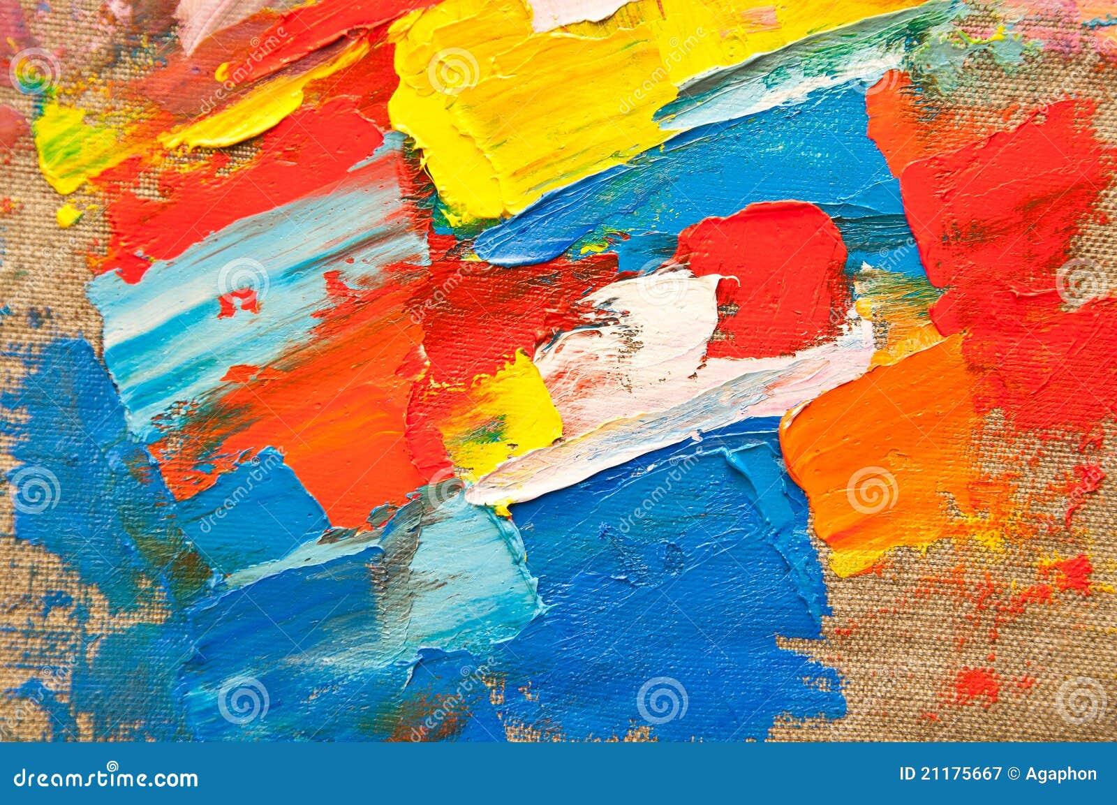 Colored Canvas