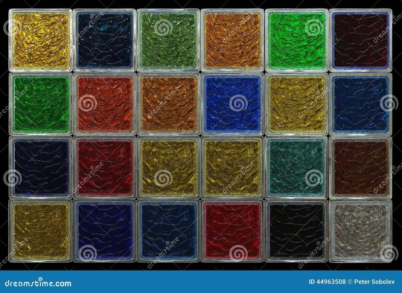 Colored glass basement finishing system for Glass block alternatives