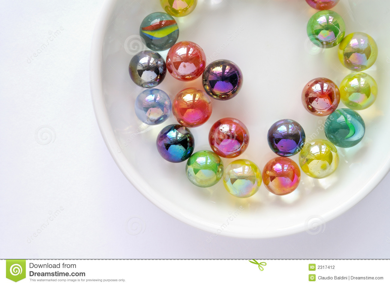 Color Glass Marble : Colored glass marbles stock photography image