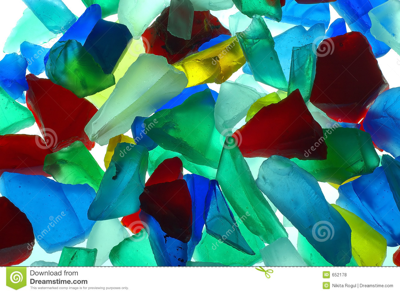 colored glass pieces - Colored Glass
