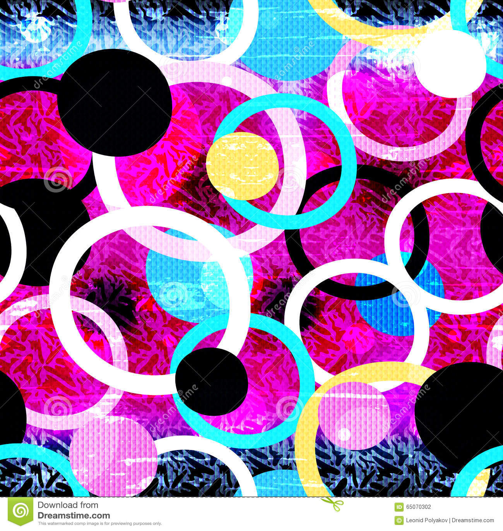 Colored Graffiti Seamless Texture Stock Illustration - Illustration ...