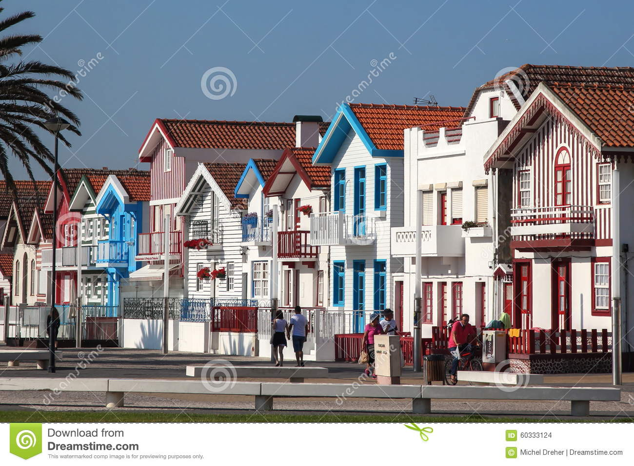 Colored houses