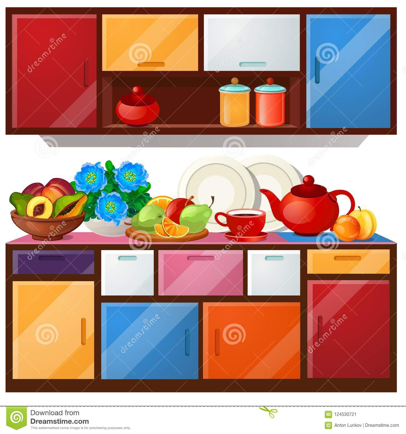 Colored Kitchen Cupboard, Dishes And Fresh Fruit Isolated On White on mirror clipart, tv clipart, closet clipart, refrigerator clipart, kitchen house clipart, bed clipart, kitchen bowl clipart, kitchen appliances clipart, wood clipart, chair clipart, furniture clipart, window clipart, stove clipart, kitchen interior clipart, doors clipart, kitchen accessories clipart, bedroom clipart, kitchen island clipart, kitchen counter clipart, kitchen stand clipart,