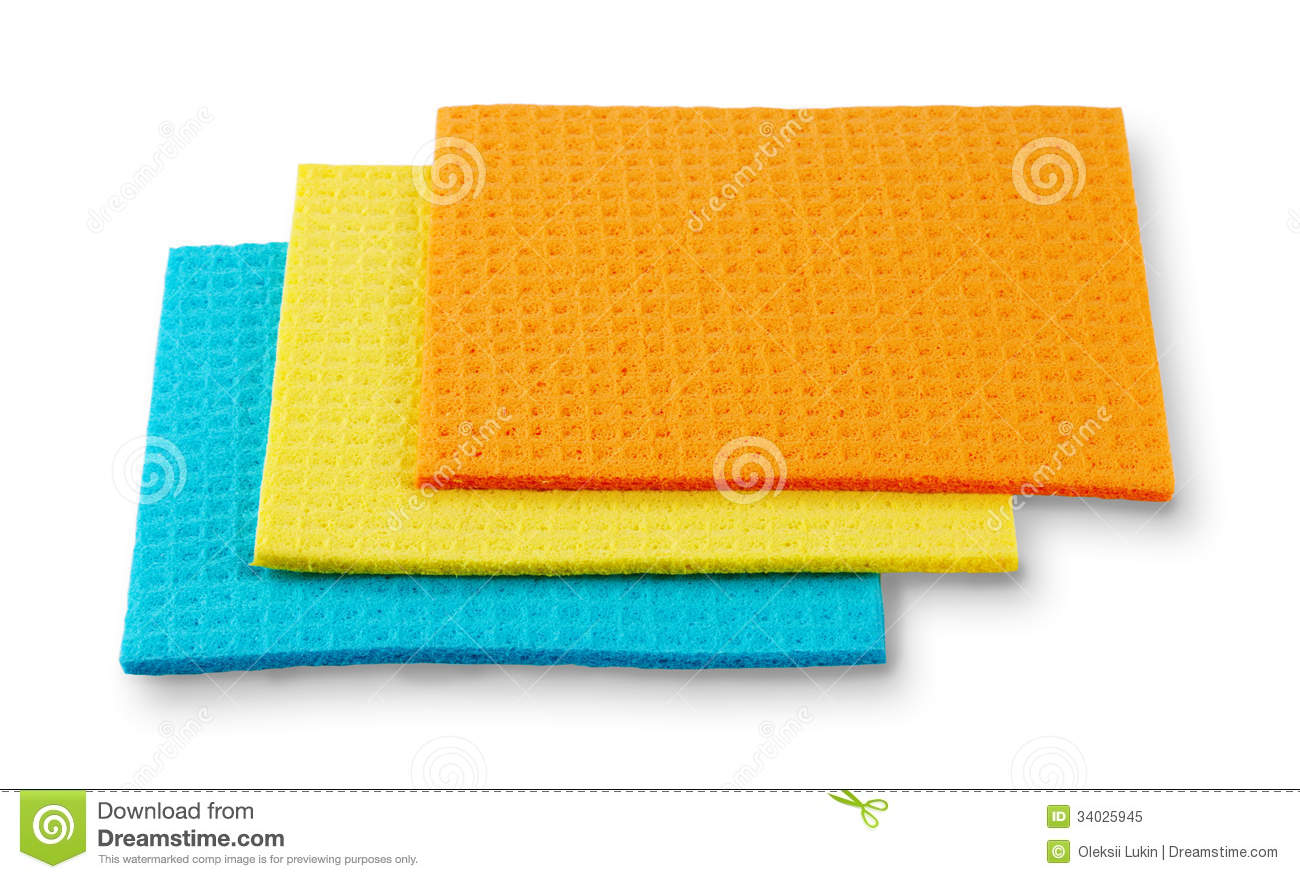 Download Colored Kitchen Rags Stock Image. Image Of Orange, Yellow    34025945