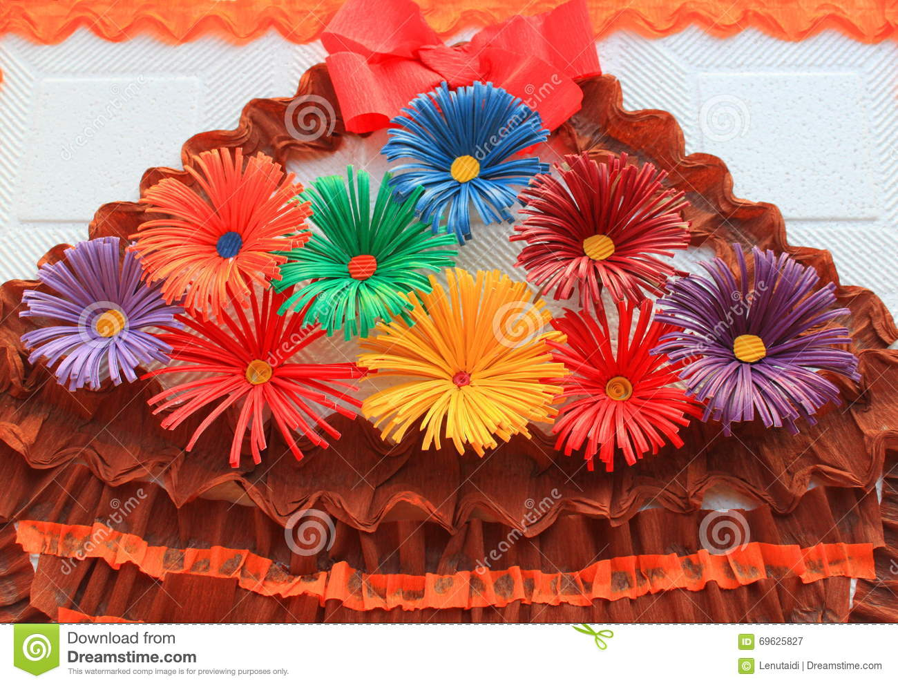 Colored paper flowers stock photo image of color material 22290054 colored paper flowers royalty free stock photography mightylinksfo