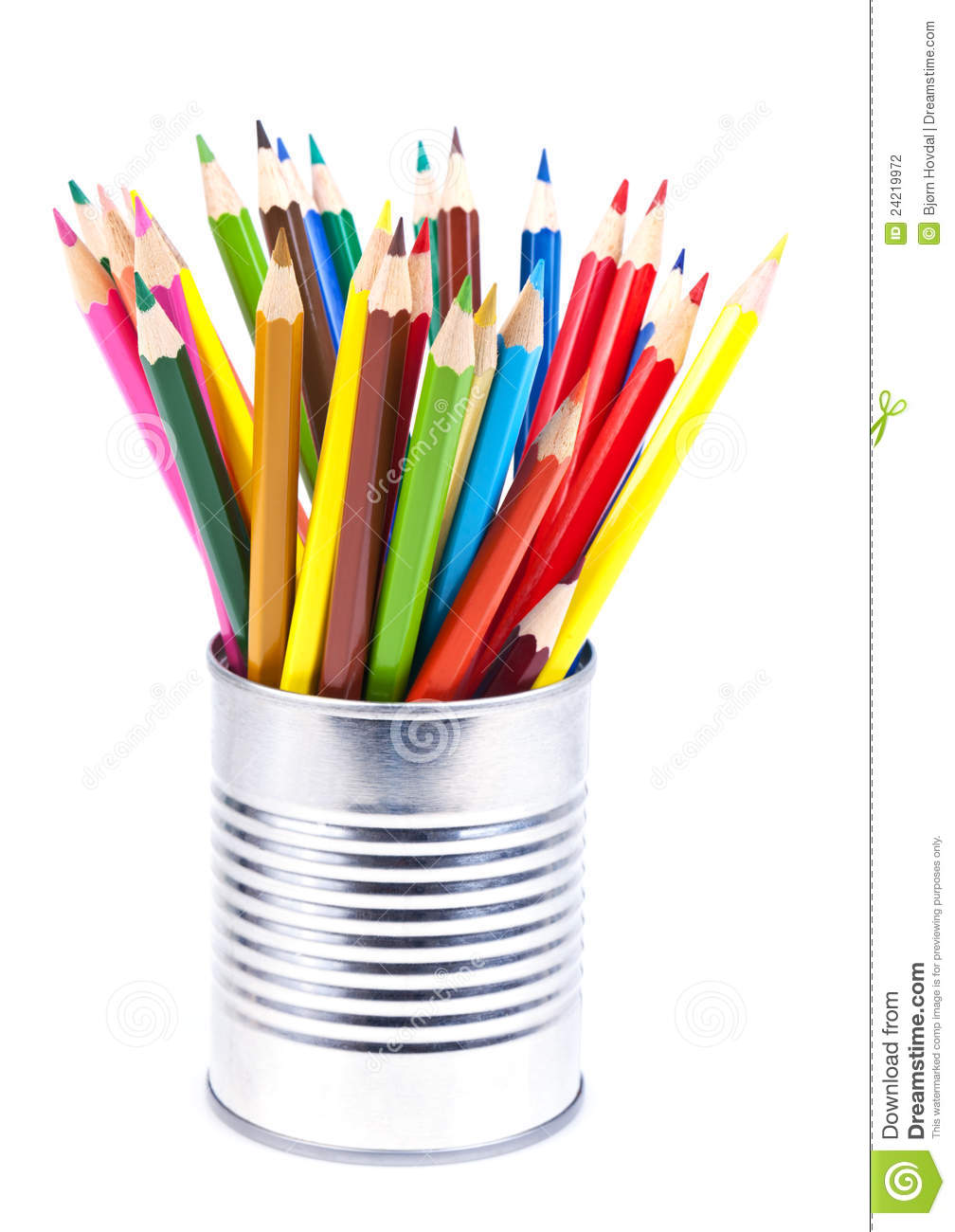 Download Colored pencils stock photo. Image of colors, creative - 24219972