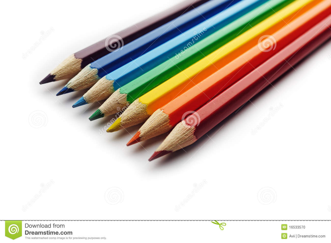 Rainbow colors in order pictures - Background Colored Isolated Order Rainbow