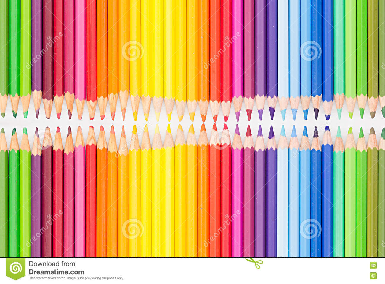 Rainbow colors in order pictures - Background Colored Order Pencils Rainbow