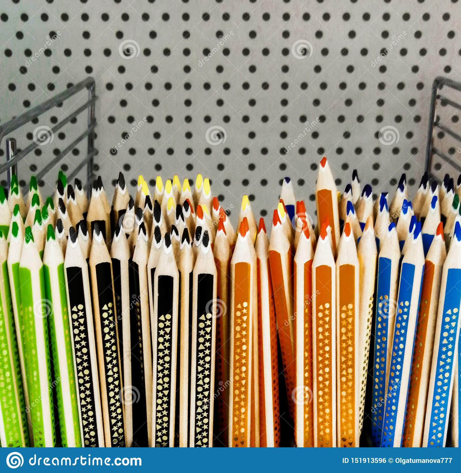 Colored pencils for sale pencils orange blue