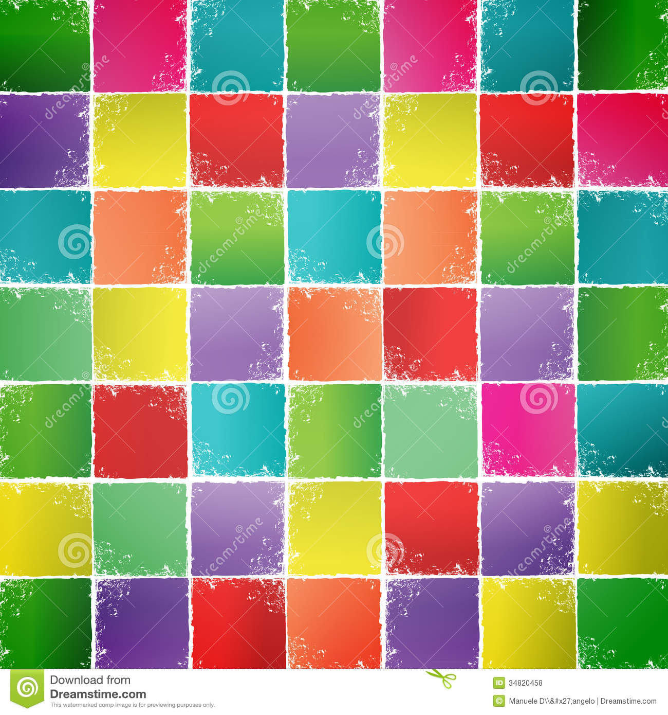 Colorful Squares Colored squares background