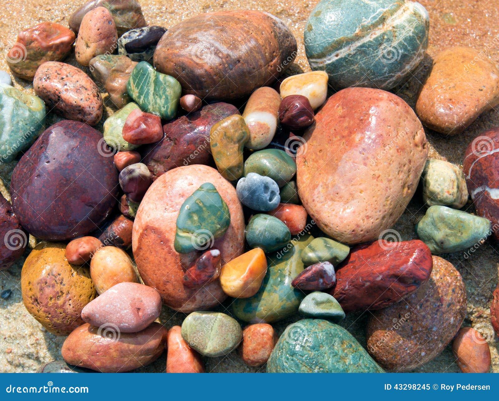 Colored Stones Stock Photo Image 43298245