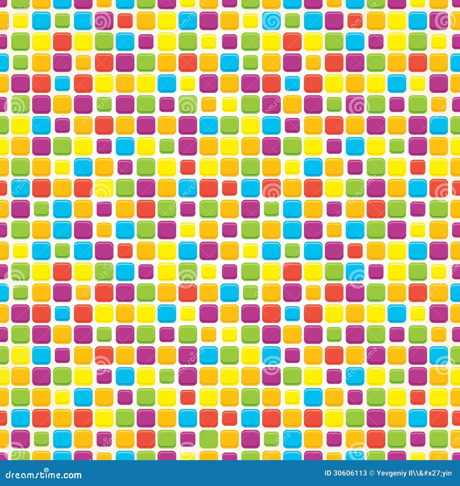 Multi Colored Tile Backsplash