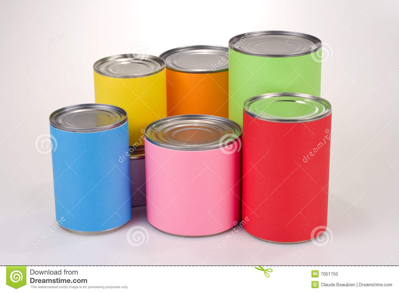Silver Canned Food