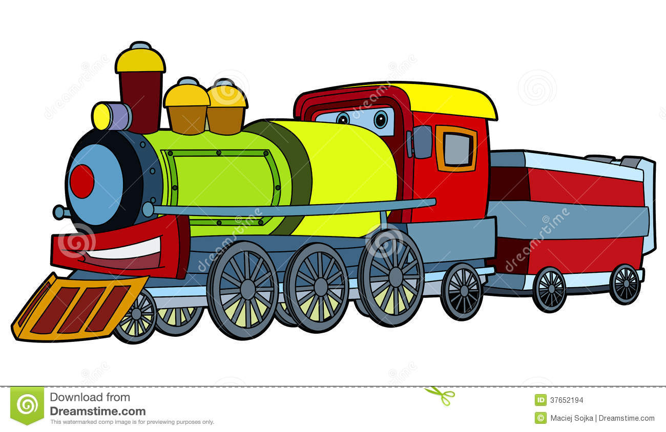 colored train illustration for the children stock train track clipart images train track clipart images