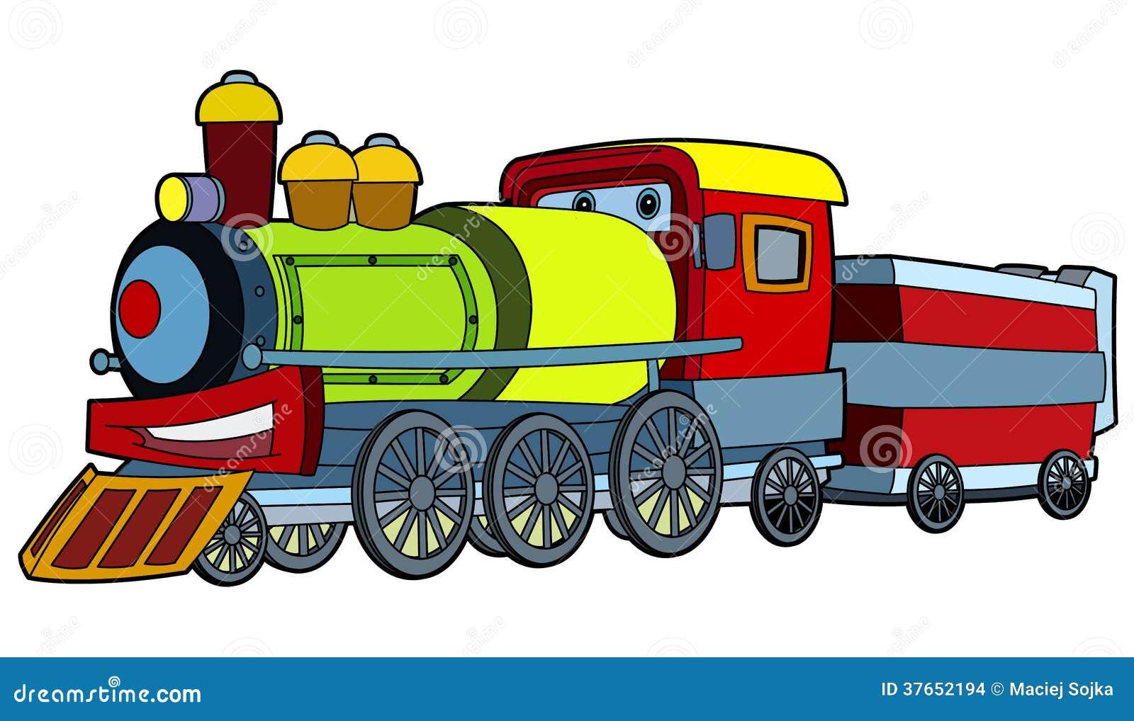 colored train illustration for the children stock train track clip art free train track clipart borders