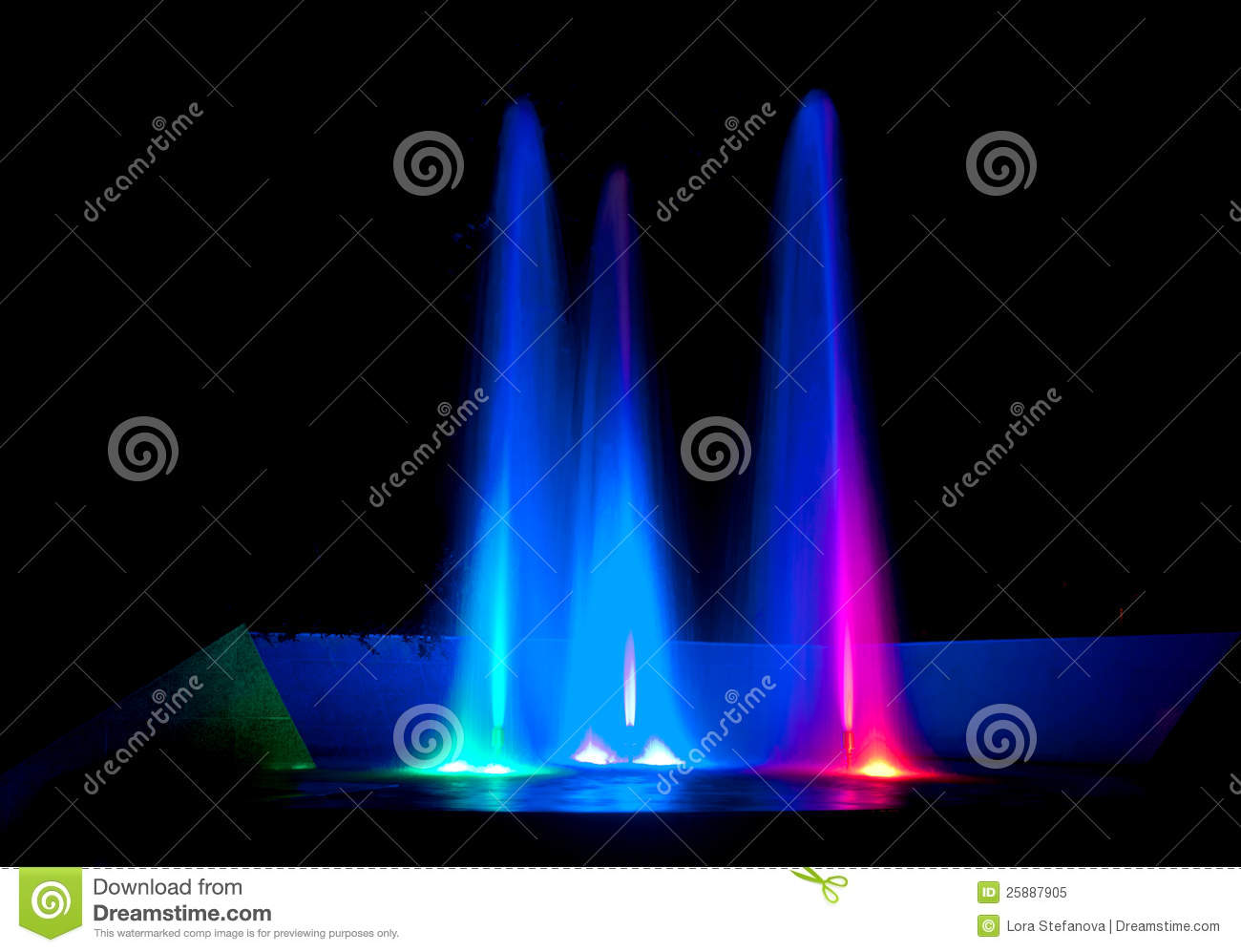 How To Get Colored Water In A Fountain 30