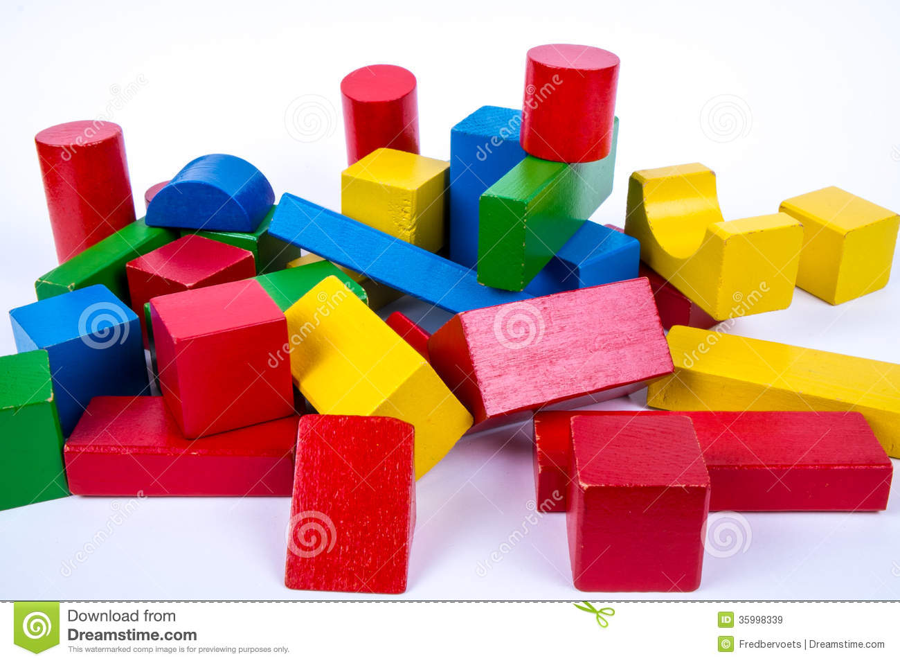 Colored Wood Blocks ~ Colored time images gold microphone color lights